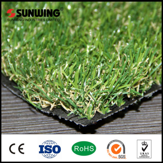 Eco-Friendly Natural Backyard Garden Cheap Fake Grass Mats pictures & photos