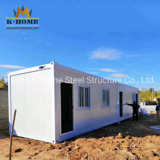Oil Gas Field Container Dining Room