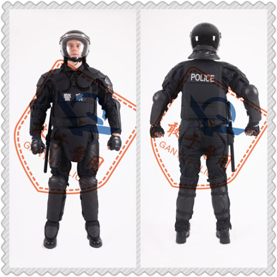 Police Riot Resistant Self Defense Suit or Protective Gear