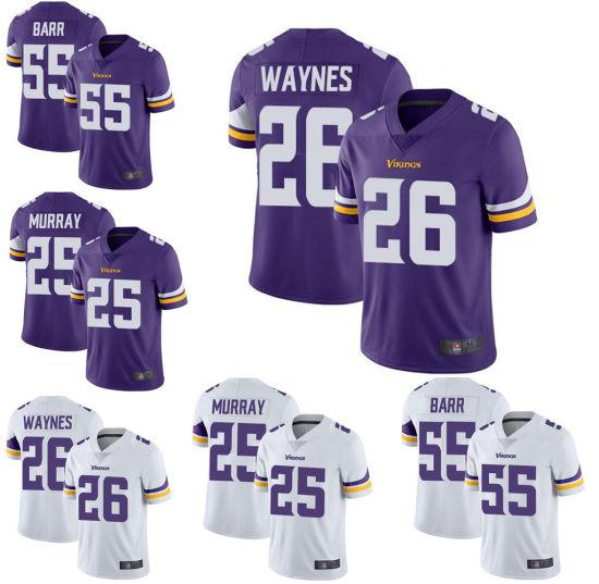 Wholesale Custom Sports Wear Anthony Barr Adrian Peterson Football Jersey