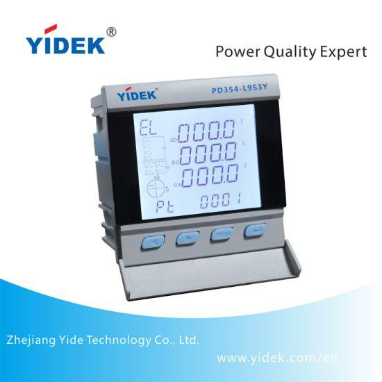 Yidek Pd354 Multifunction Intelligent LCD Panel Digital Power Meter