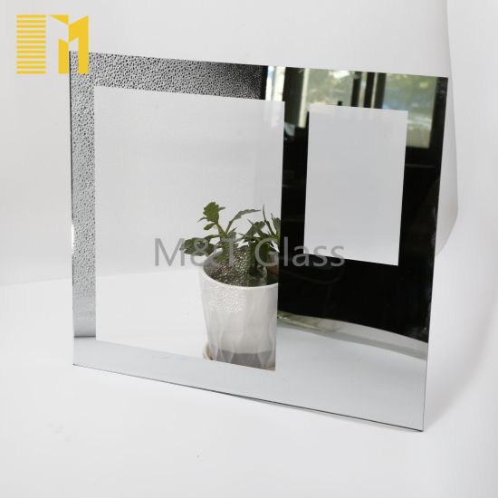 Square Shaped Mirror Glass with Quality Assurance Small Mirrors