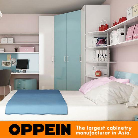 Modern Kids Wooden Furniture Children Bedroom Op16 Kid5