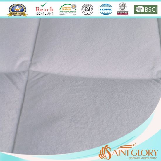Overfilled Washable Twin Quilted Mattress Protector pictures & photos