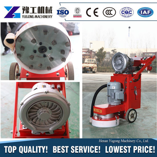 Wet Electric Concrete Floor Grinder Edge Machine with Vacuum