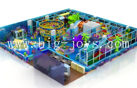 Kids Toy Naughty Castle Amusement Indoor Playground Equipment (BJ-IP101) pictures & photos