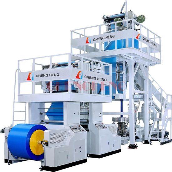Chsj-Ml 3 Layers PE PLA Biodegradable Co-Extrusion ABA Film Blowing Machine