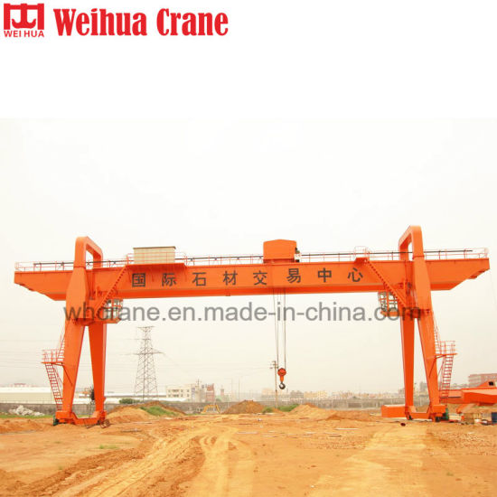 Mg Type Double Girder Yard Gantry Crane
