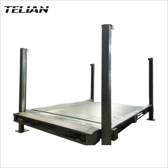 Hydraulic Four Post Car Stacker Auto Parking Lift