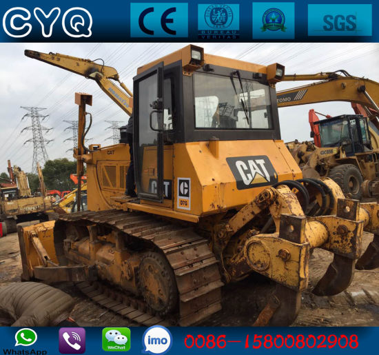 China Used Bulldozer Cat D7g Dozer for Sale with Ripper and
