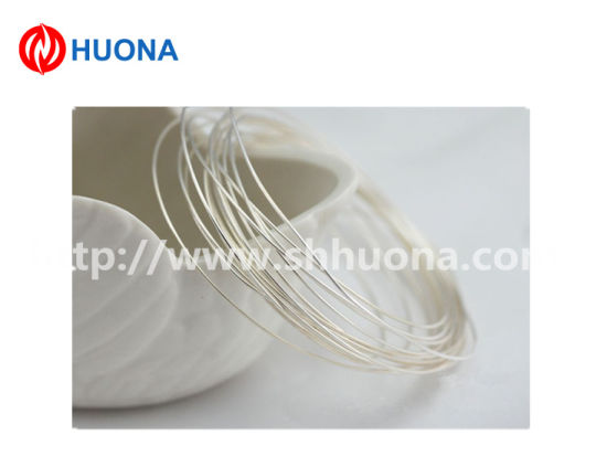 Silver Copper Wire AG90cu10 Silver Alloy Wire for Thermostat pictures & photos
