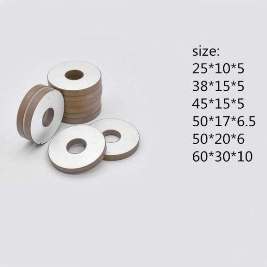 Fbpzt603010 Piezo Ceramic Piezoelectric Ceramic Ring Ceramic Piezo Ring