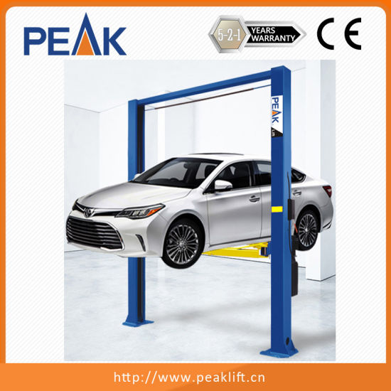 China Factory Smart Design Automotive Hoist Auto Two Post Lift 3500 (208C) pictures & photos