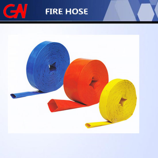 Rubber Lining Fire Hose for Fire Fighting pictures & photos