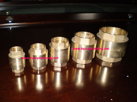 Brass Spring Check Valves Size 1/2′′-2′′ (HO07) pictures & photos