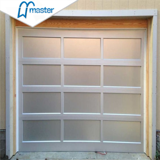 Wholesale Aluminum 16X7 Modern Glass Garage Doors