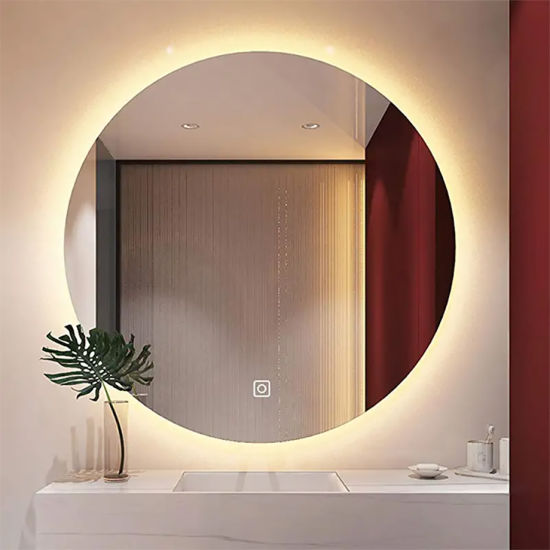 Wholesale Hotel IP44 Round Design Backlit LED Bathroom Mirror with GS CE RoHS