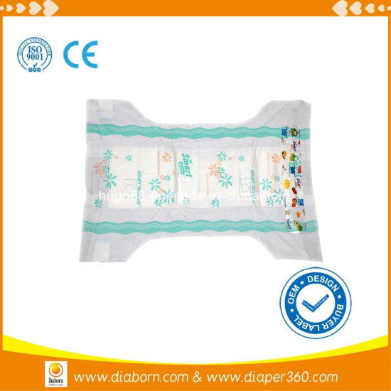 2016 Top Quality PE Tape Smart Baby Diaper pictures & photos