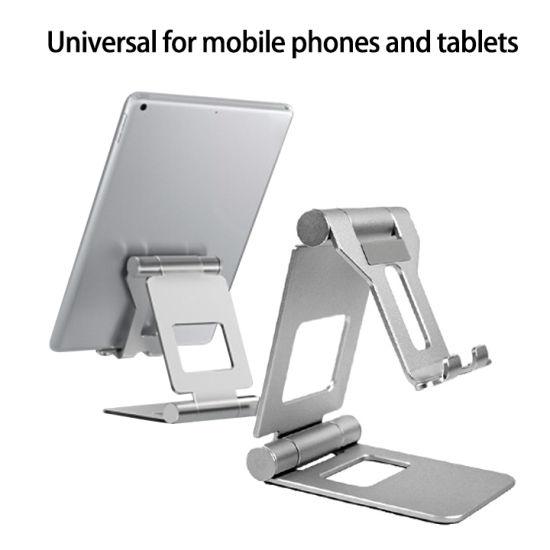 Universal Aluminum Alloy Foldable Tablet Holder Stand Portable Desktop Mobile Phone Holder