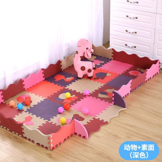 China Children Educational Eva Alphabet Matbaby Number Puzzle Mat