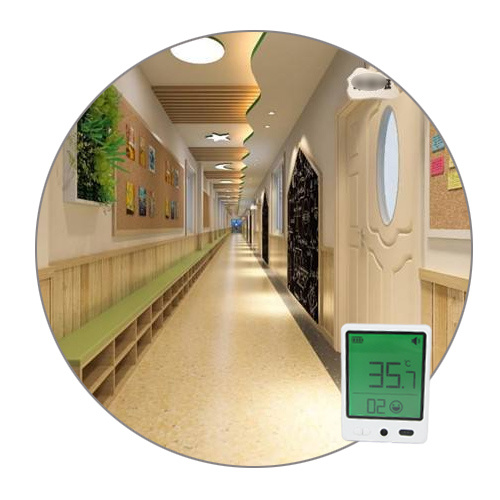 Non Touch IR Digital Thermometer for School Kigs