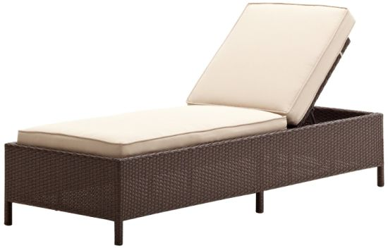 Classical Outdoor Garden Sunbed Rattan Weave Furniture by Factory Wholesale