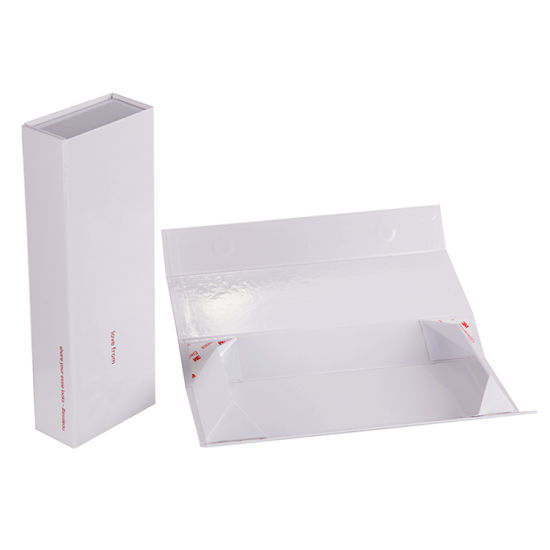 Firstsail Rectangle Magnet Closure Gift Storage Packaging Shipping Folding Paper Box for Gift Cosmetic Perfume Wig