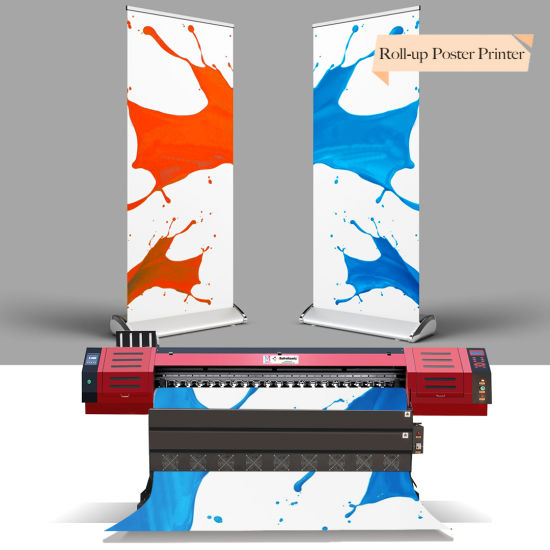3.2m Large Format Eco Solvent Printer for Flex Printing with Dx7 Printhead 1440dpi