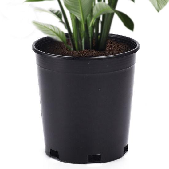 Black Plastic 1 Gallon Pots Plastic Plant Pots Net Nursery Tree Pots