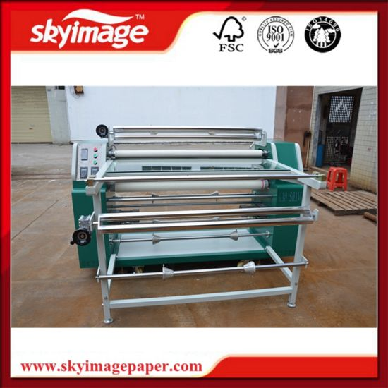 200mm*1.2m Mini Rotary Heat Transfer Machine for Polyester Dye Sublimation