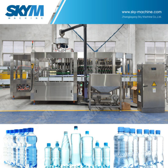 20000bph Pet Bottle Mineral Water Filling Machine