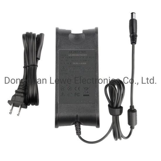 Wholesale Laptop Adapter for DELL 19.5V 4.62A 7.4*5.0mm DC AC Adapter Notebook Power Charger