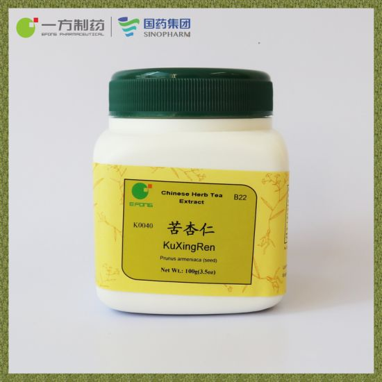 Bitter Apricot Seed Herb Tea Extract Could Descend Qi to Resolve Phlegm and Moisten Intestines to Relieve Constipation