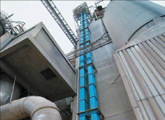 Cement Chain Bucket Lifting Bucket Elevator Conveyor