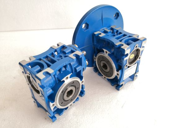 New Series Single and Double Stages Worm Gearbox