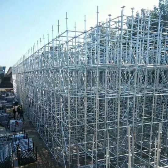 Wholesale Steel/Metal Layher Type Ringlock Scaffolding System for Sale