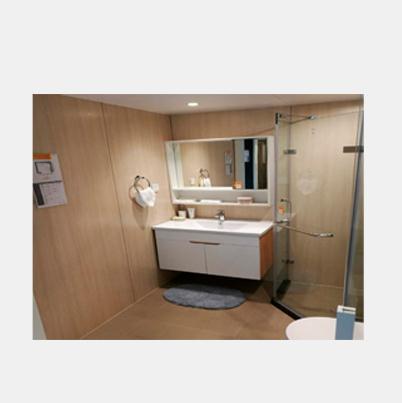 Steel Waterproof Shower Wall Panels Bathroom Ceiling Cladding