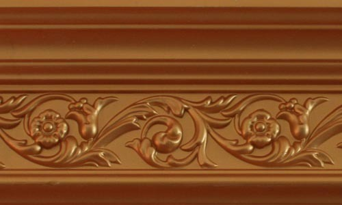 Polyurethane Decoration Products/PU Foam Cornice for Decoration