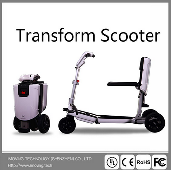 Gorgeous Elegance 3 Wheel Folding Balance E Scooter for Travel pictures & photos