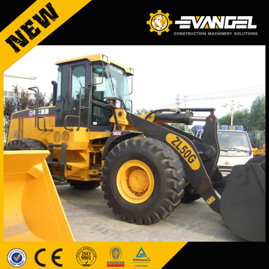 High Efficiency 5 Ton Small Wheel Loader Lw500f pictures & photos
