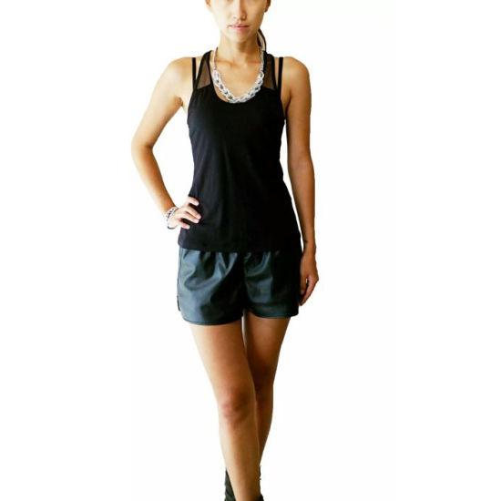 Dry Fit Mesh Vest Yoga Gym Running Women Tank Top