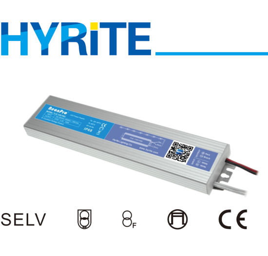 Ultra Slim LED Driver with IP68 Waterproof for Indoor Outdoor Use