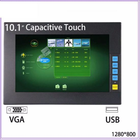 [Hot Item] Low Cost 10 Inch Open Frame Capacitive Industrial Touch Screen  Panel PC Monitor