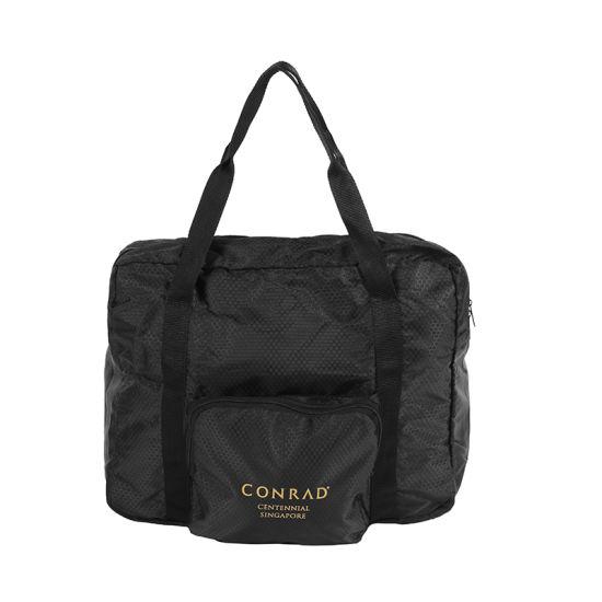 Custom Foldable Waterproof Travel Unisex Flight Duffle Luggage Bag