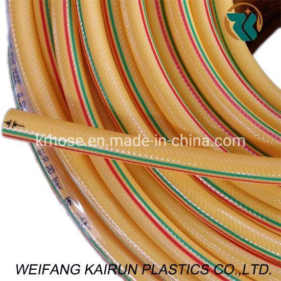 PVC Hi-Pressure W. P. 800psi Yellow Pestcide 5laylers Spray Hoses