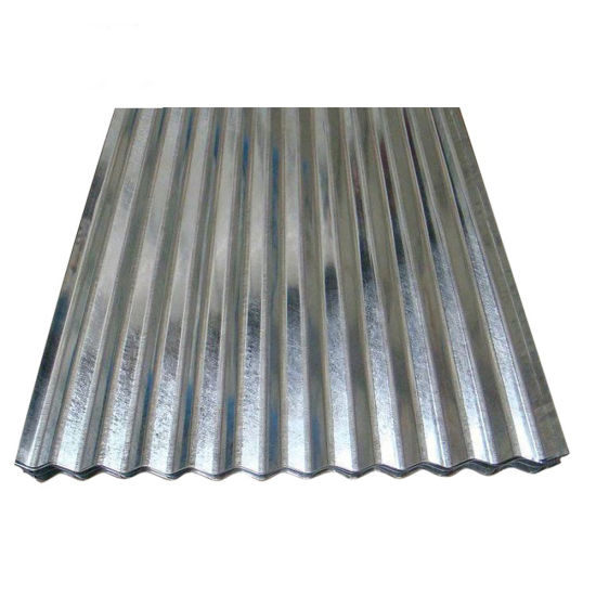 Building Materials Zinc Coated Galvanized Corrugated Steel Roofing Sheet