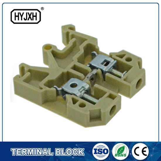 50 AMP Plastic Junction Terminal Block Connector 35mm Pitch