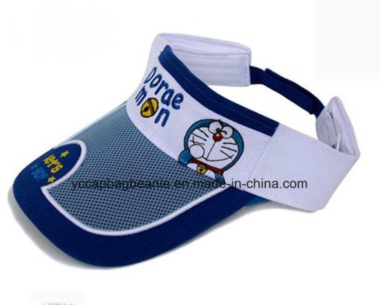 China Children Funny Soft Cotton Sun Visor Hat - China Sun Visor ... 97ad27fe2ce