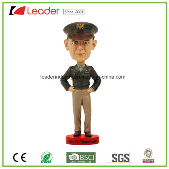Polyresin Customized Bobble Head Resin Statue for Souvenir Gifts and Promotinal pictures & photos