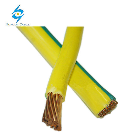 China Earth Ground Copper Wire Y/G Yellow Green Grounding Cable ...